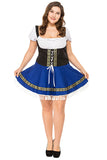 Plus Size Womens Oktoberfest Beer Girl Costume