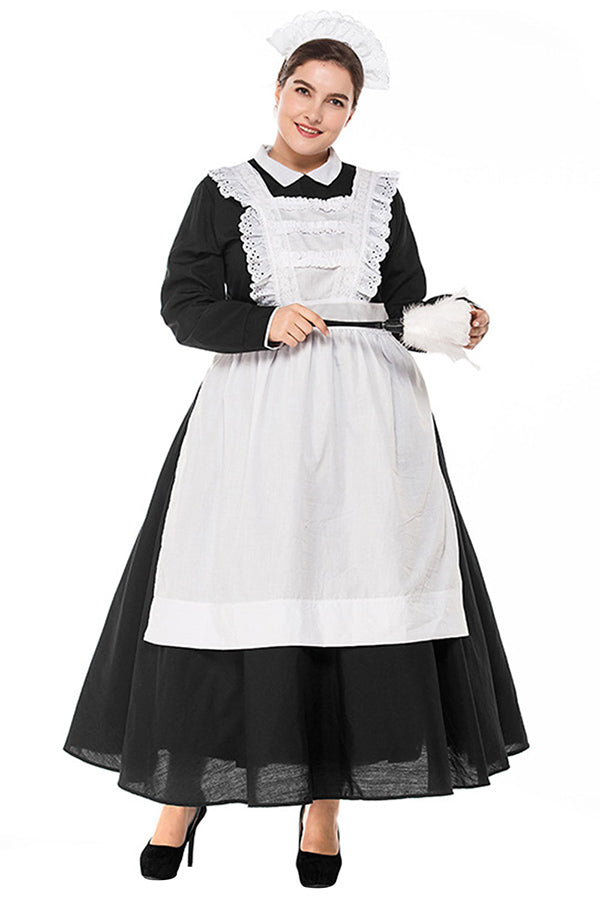 Plus Size Adult French Maid Costume