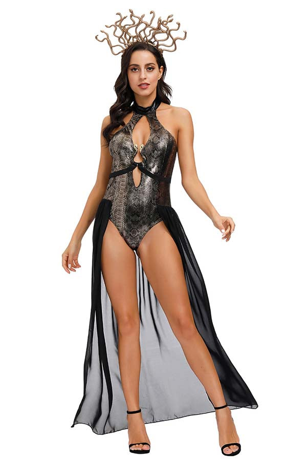 Women's Deluxe Medusa Dress Halloween Costume
