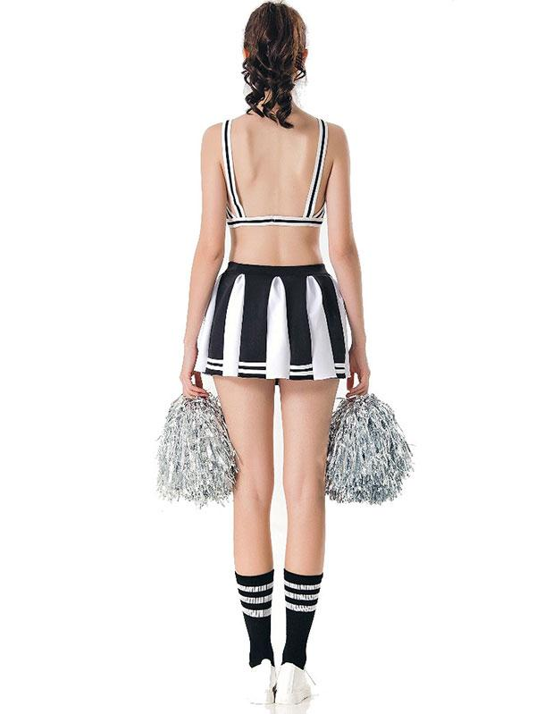Sexy Cheerleader Costume High School Sports Halloween Costume