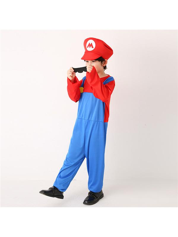 Child Super Mario Halloween Costume