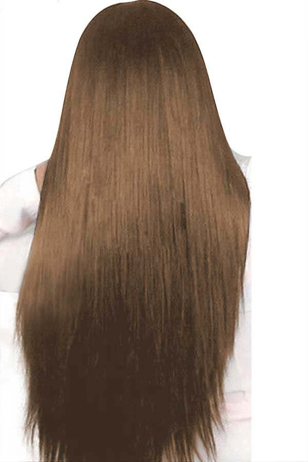Women's Long Straight Heat Resistant Straight Wigs