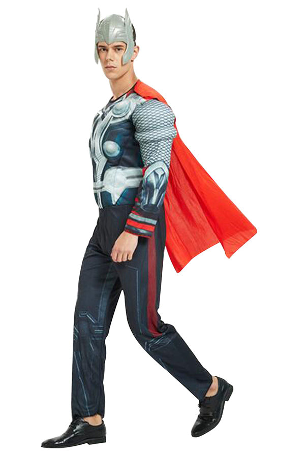 Muscle Thor Halloween Costume For Men