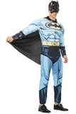 Mens Deluxe Muscle Batman Costume