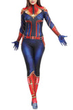 Womens Captain Marvel Halloween Costume