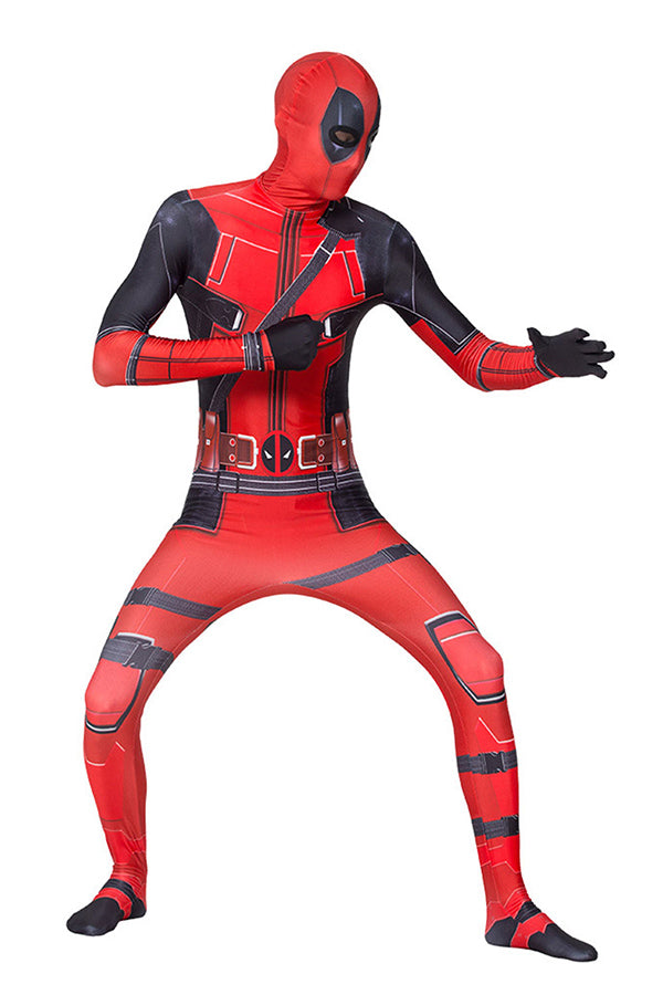 Halloween Deadpool Costume For Adult