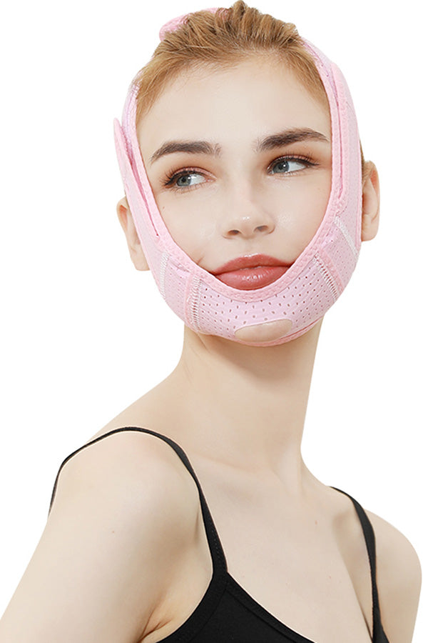 Breathable Facial V Line Strap Adjustable V Shape Lift Up Band