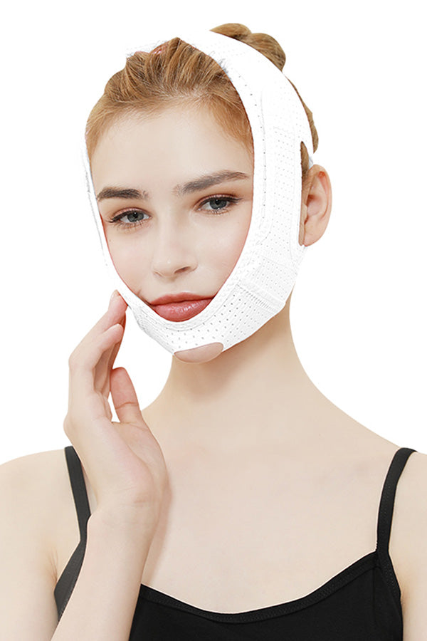 Women's Adjustable Facial Slimming Belt Breathable V Line Cheek Strap