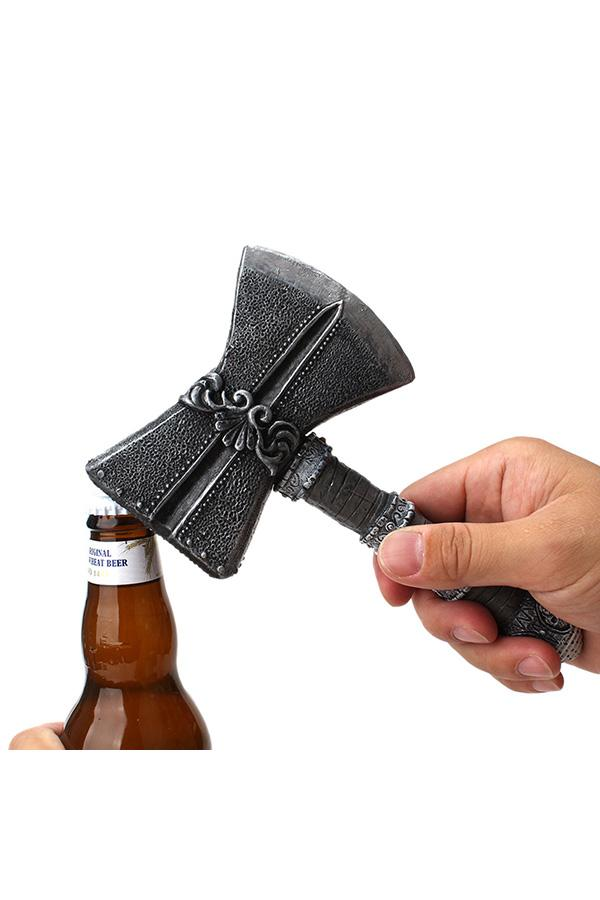 Novelty Axe Bottle Opener Beer Opener Portable Beverage Wrench Kitchen Gadget