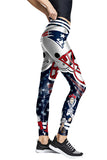 Women's Active Patriots Leggings Navy Blue