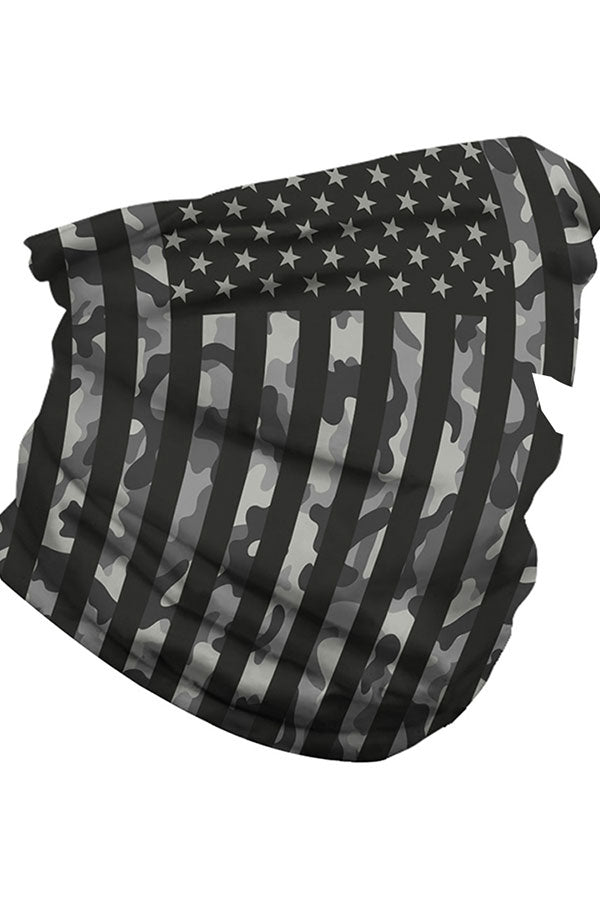 Unisex Flag Print Face Shields Magic Scarf For Sun Protection