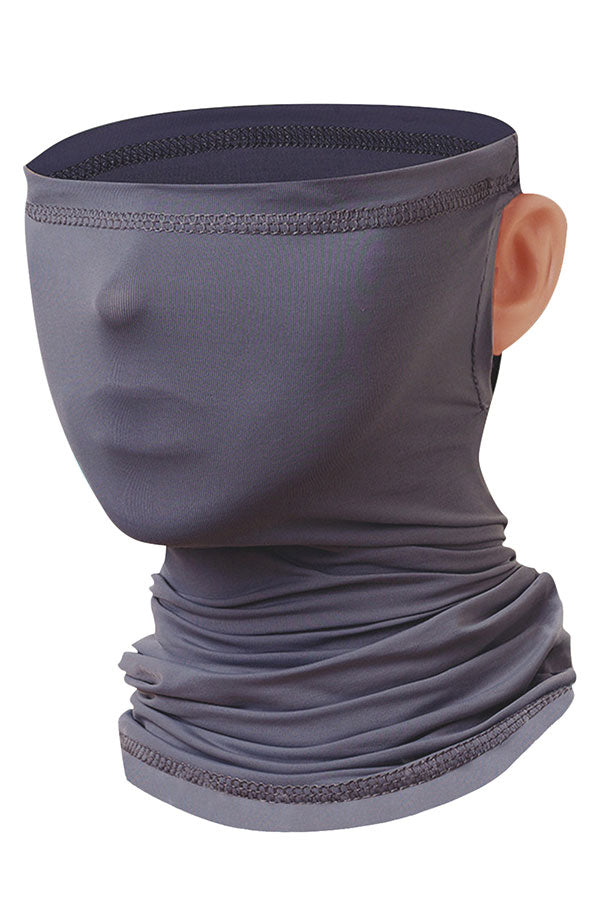 Solid Multifunction Outdoor Neck Gaiter For Dust Protection