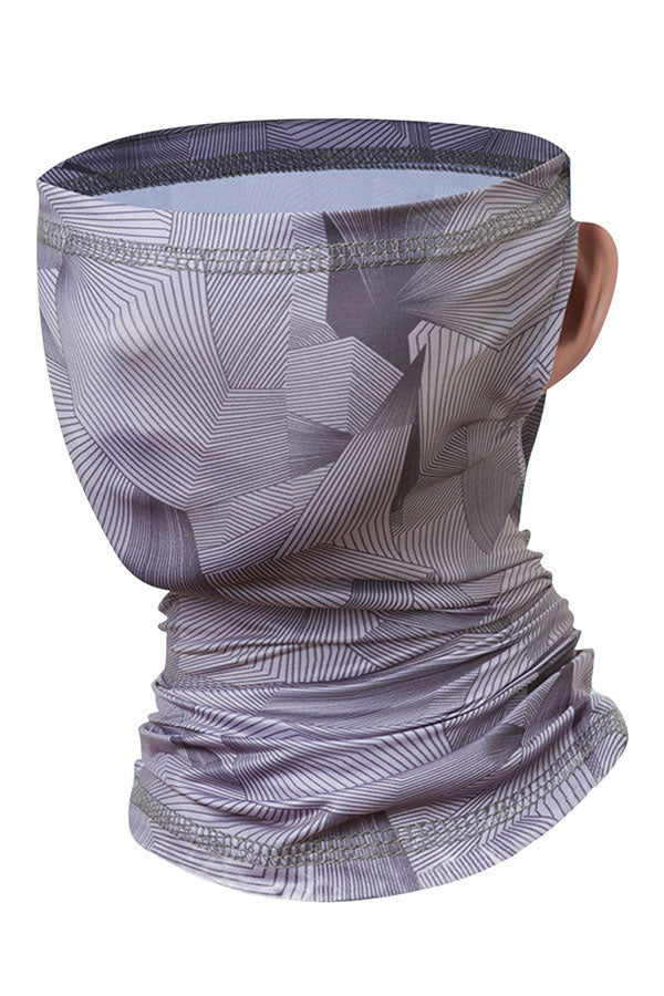 Unisex Print Breathable Motorcycle Neck Gaiter