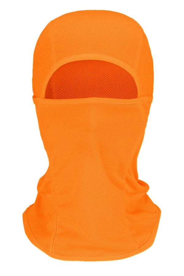 Outdoor Sports Full Face Cycling Outdoor Balaclava Orange