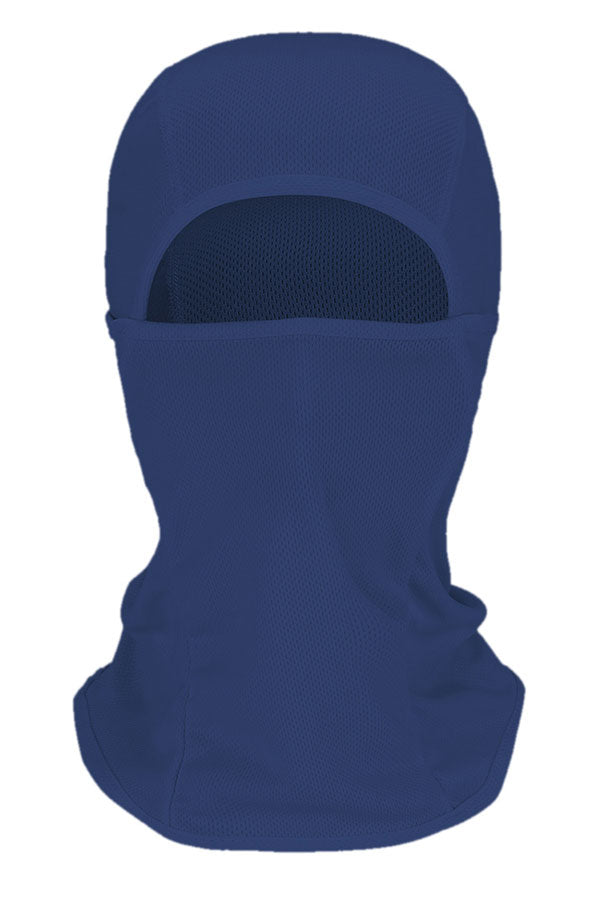 Unisex Full Face Windproof Motorcycle Balaclava Navy Blue
