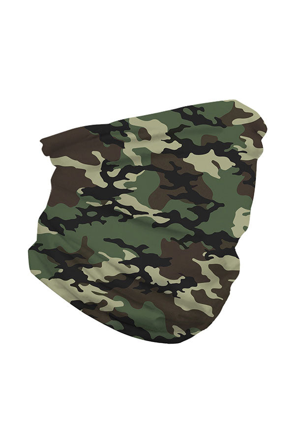 Outdoor Camouflage Print Headwear Running Neck Gaiter