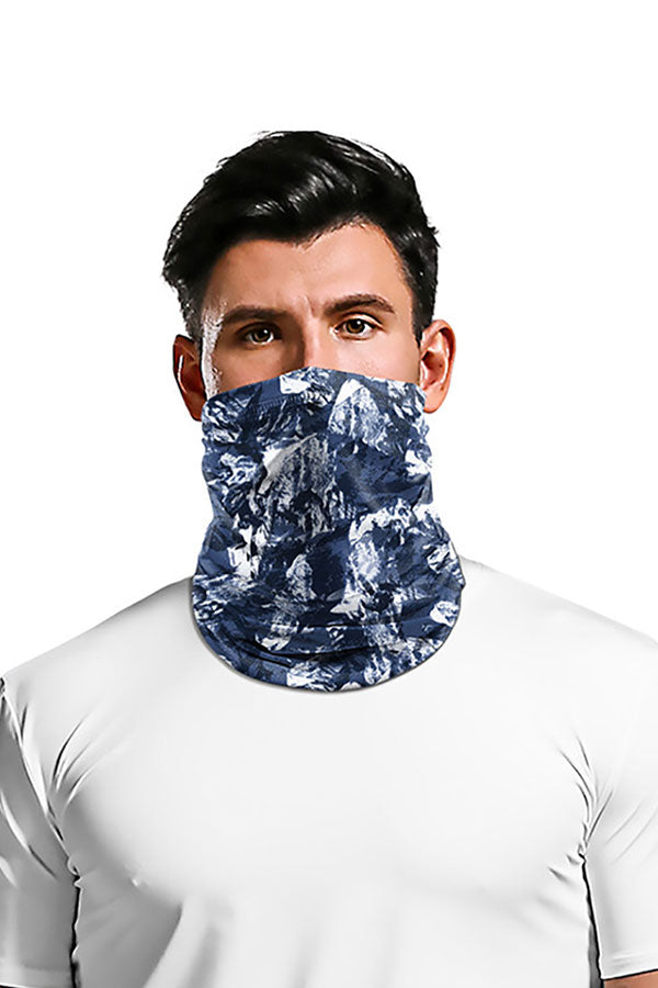 Unisex Camo Print Neck Gaiter For Outdoor Sports