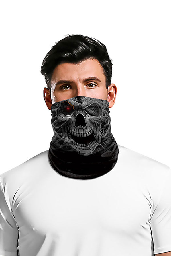 Funny Outdoor Sports Jellyfish Print Neck Gaiter Headband