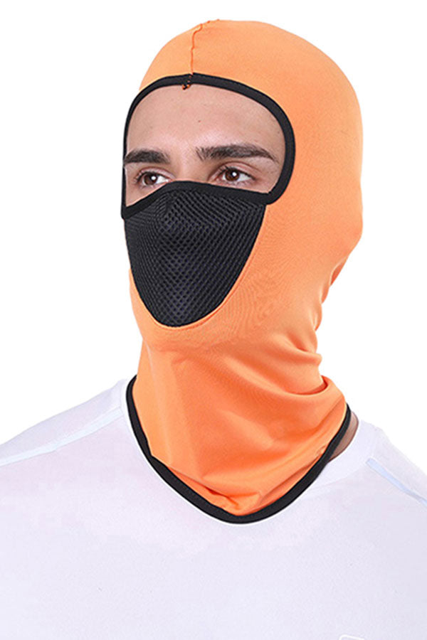 Summer Breathable Motorcycle Balaclava Neck Gaiter