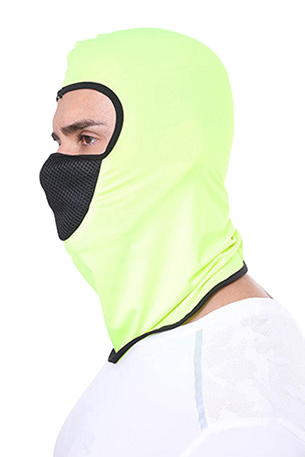 Color Block Summer Windproof Breathable Balaclava