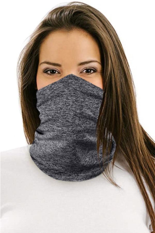 Unisex Windproof Filter Neck Gaiter For Dust Protection