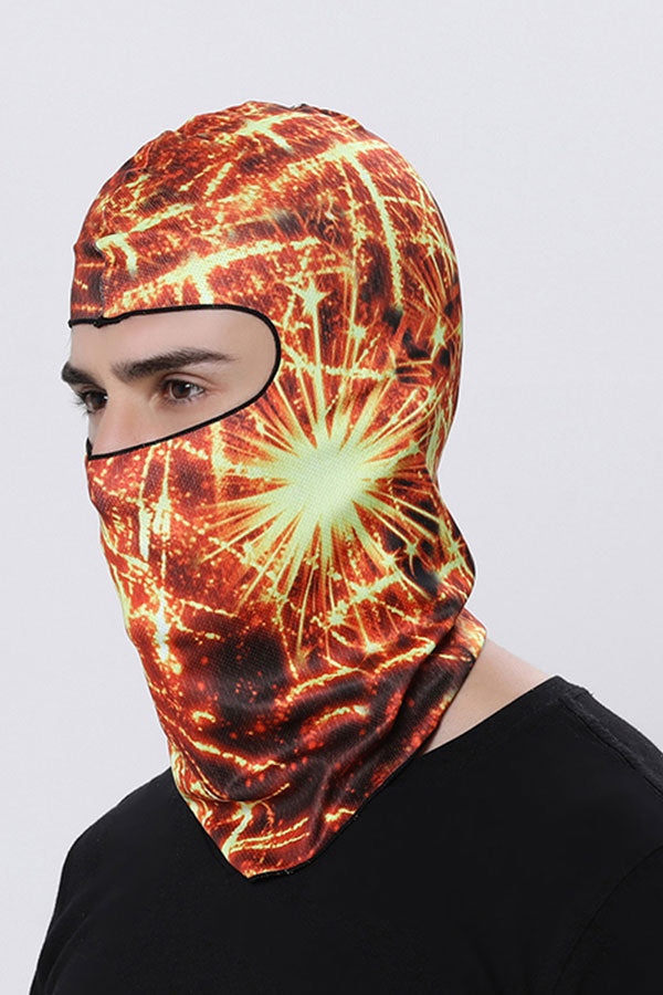 Unisex Print Sun Protection Balaclava For Outdoor Sports