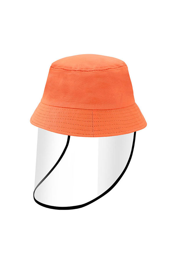 Multifunctional Reusable Shield With Bucket Hat For Kids