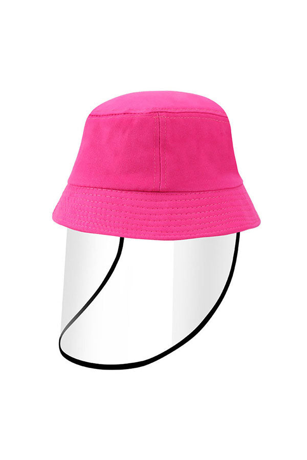 Dustproof Windproof Multifunctional Bucket Hat With Shield For Child