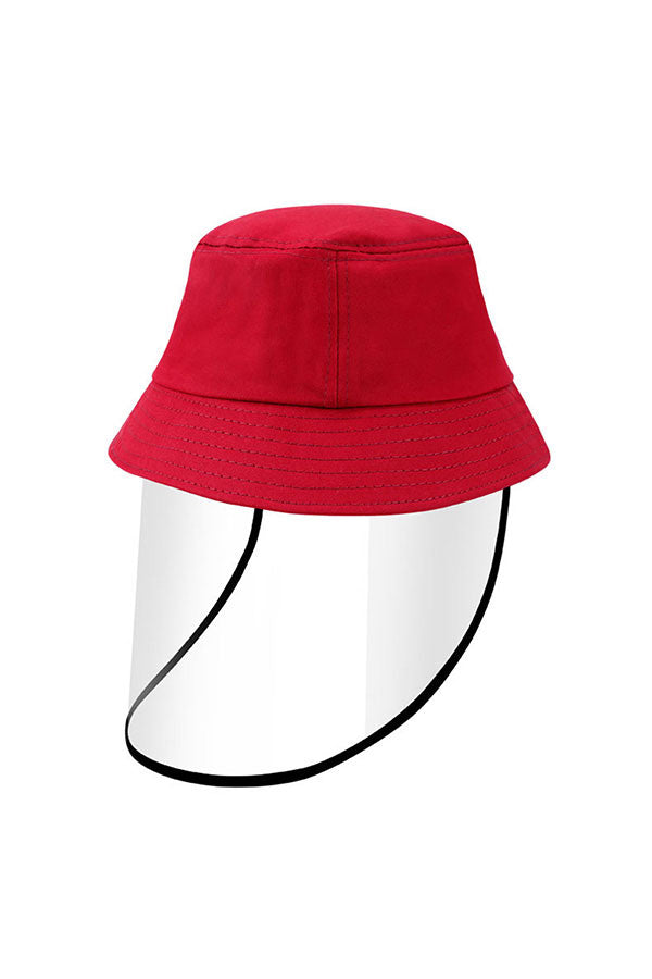 Kids Protective Shield And Bucket Hat For Splash Protection