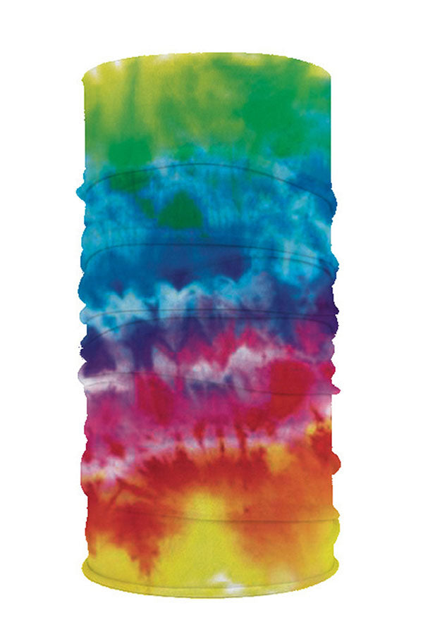 Tie Dye Print Neck Gaiter Fishing Face Shield For Sun Protection
