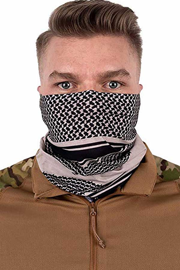 Multi-purpose Printed Outdoor Cycling Neck Gaiter