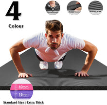 Load image into Gallery viewer, Large Size Gym Workout Yoga Mat For Men