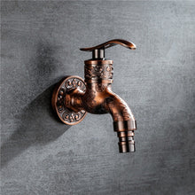 Load image into Gallery viewer, Antique Garden Wash Basin Faucet Decorative