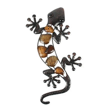 Load image into Gallery viewer, Metal Gecko for Garden Decoration Outdoor