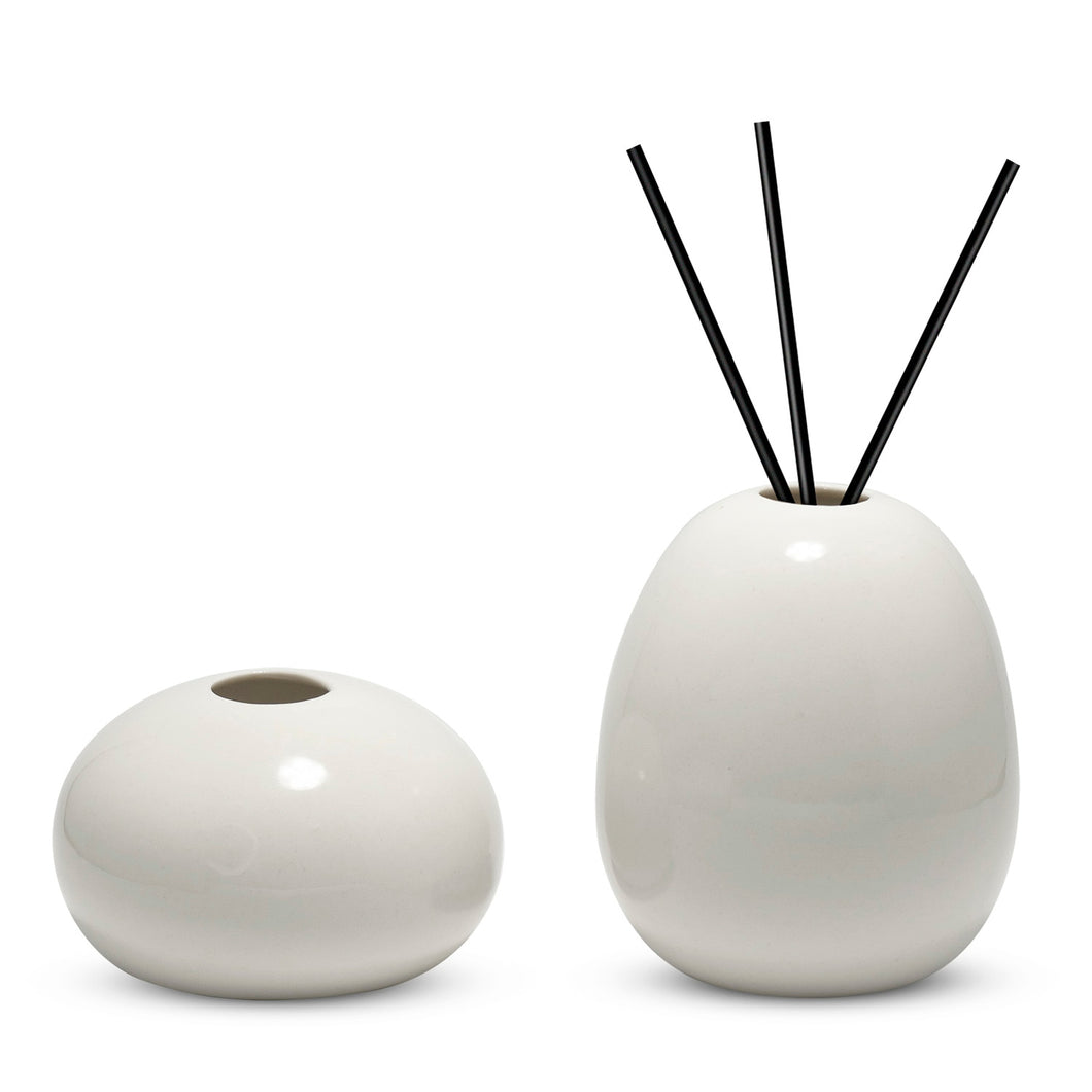 Aromatherapy Ceramic Vases Set Of 2