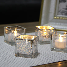 Load image into Gallery viewer, Crystal Candle Holder Glass Tealight