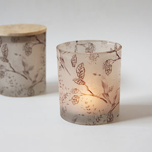 Creative Modern Glass Candle Holder