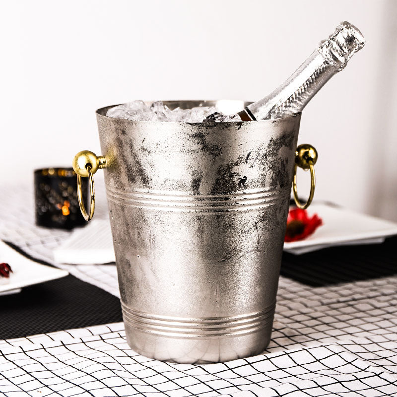 Stainless Steel Ice Bucket Bar Chiller