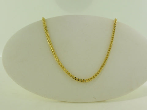 10K Foxtail Necklace