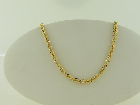 10K Ifire 20 inch Gold Necklace