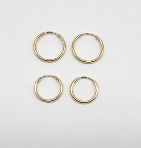 10K Yellow Gold Earring Combination