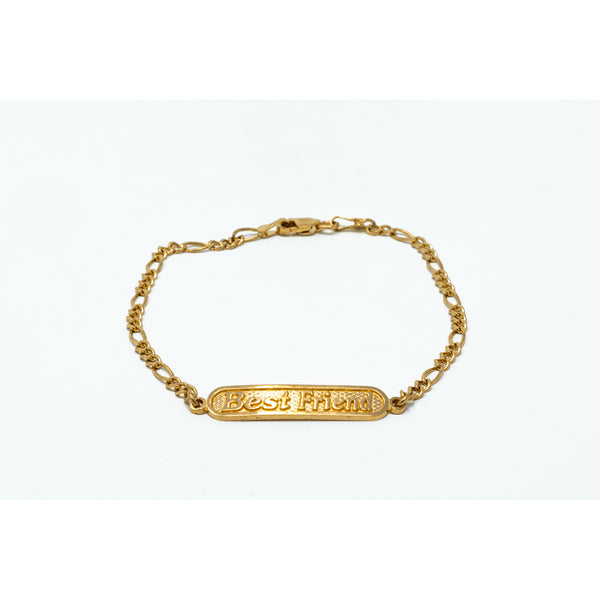 Best Friends 10K Gold Bracelet