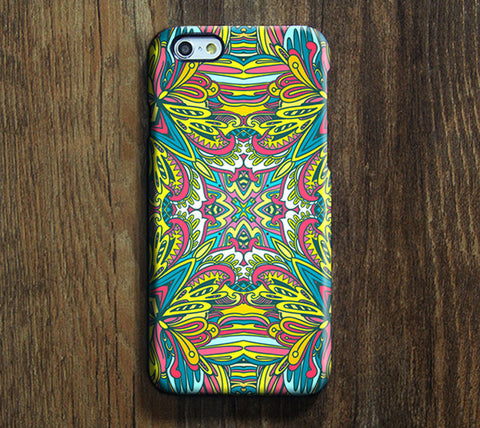Medieval Ethnic Art Pattern iPhone 6 Plus/6/5S/5C/5/4S/4 Protective Case #101 - Acyc - 1