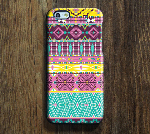 Ethnic Aztec iPhone 6s Plus/6/5S/5C/5/4S/4 Dual Layer Durable Tough Case #102 - Acyc - 1