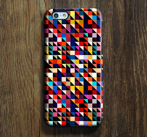 Squares Art Pattern iPhone 6 6 Plus 5S 5C 5 Dual Layer Durable Tough Case #123 - Acyc - 1