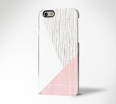 Life Style Geometric Pink iPhone 6S Case 6/6S/Plus/SE/5S/5C/5/4S Protective Case #908 - Acyc - 1