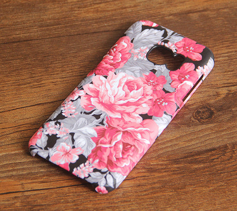 Stylish Floral Samsung Galaxy S7 Edge/S7/S6 Edge Plus/S6 Edge/S6/S5/S4/Note 5/Note 4/Note 3 Case #145 - Acyc - 1