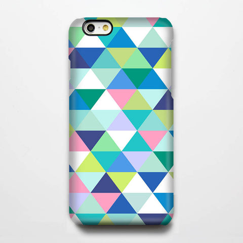 Seafoam Color Geometric Tough iPhone 6s Plus 6 5S 5C 5 4 Protective Case #165 - Acyc - 1