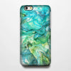 Abstract Green Waves iPhone 6s Case/Plus/5S/5C/5/4S Dual Layer Tough Case#169 - Acyc - 1