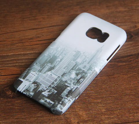 New York Skyline Samsung Galaxy S7 Edge/S7/S6 Edge Plus/S6 Edge/S6/S5/S4/Note 5/Note 4/Note 3 Case #173 - Acyc - 1